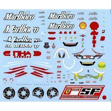 F'artefice 1:43 Decals for Ferrari F1 F2008 (1) Full Sponsor