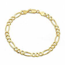 10k Yellow Gold Miami Cuban Link Bracelet, For Men/Women,