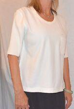 SONIA RYKIEL versatile cute white size S M  Italy Knit Top Sweater  Blouse Shirt