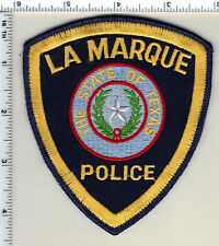 La Marque Police (Texas) Uniform Take-Off Shoulder Patch from 1991