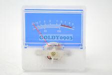 1pc SD-306 Panel VU Meter 250uA 650Ω 40x40mm no lamp Blue panel -20~+3dB SD