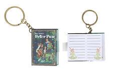 Disney Peter Pan Mini Notebook Key Chain Key Ring