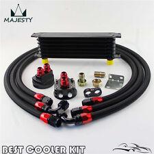 7 Row AN10 Trust Oil Cooler Filter Relocation Kit For Toyota Suzuki Subaru WRX