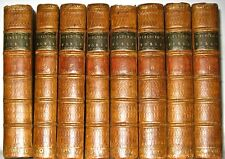 Leather Set;HENRY FIELDING WORKS!Library PRINTED 1762!as First Edition GIFT RARE