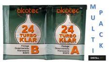 Alcotec Turbo Klar Clear 24 h Spirit Wine Finnings Turbo Yeast MULTI PACK FAST