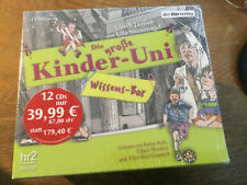 Kinder Uni [12 CD] Donner Fledermäuse Träume Ritter / Rufus Beck Ulrich Noethen