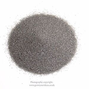 Silver Grey Coloured sand for crafts and terrarium projects | 100g