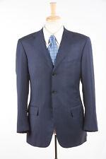 Mens PAL ZILERI SARTORIALE Blazer 42 R in Lake Blue 150s Wool ITALY