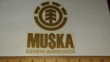 Vtg 90's Element Chad Muska Bam Margera Skateboard Deck Sticker Old School Nos !