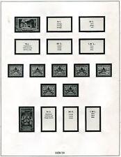 Lindner VD Vatikan 1929 - 71 ( 50 Bl. ) in br. RB - NP ca. 150,-- € ( Z546 )