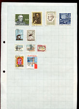 Portugal Album Page Of Stamps #V5040