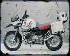 Bmw R1150Gs Adv 5 A4 Photo Print Motorbike Vintage Aged