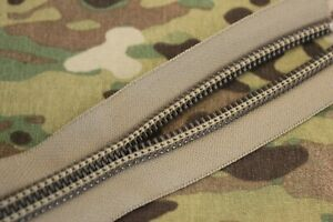 #10 YKK Zipper, AU, Tan499, Pack, Pouch, Gear, BY THE METRE, Army, Hunting, DIY