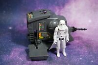 VINTAGE Star Wars COMPLETE INTERCEPTOR 4 MINI RIG SNOWTROOPER FIGURE KENNER int4