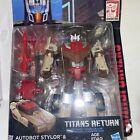 Transformers Deluxe Titans Return G1 Headmaster Chromedome Complete