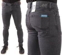 Lee Herren Jeanshose Malone Skinny Concrete Grey Grau W26 - W36