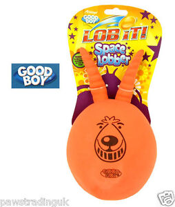 Lob It Standard  Space Lobber Latex Dog Toy Space Hopper Dogs Retro