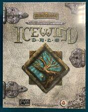 PC CD Icewind Dale - Forgotten Realms , Interplay - BIG ORIGINAL BOX - RARE B