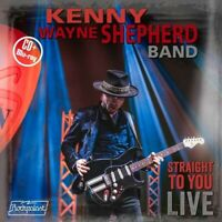 Kenny Wayne Shepherd - Straight To You Live - New CD/B-ray - PreOrder - 27th Nov
