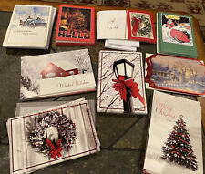 New lot 275+ Christmas, Holiday greeting cards, New With Envelopes See All Pics!