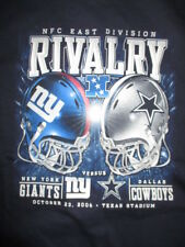 East Division Rivalry 2014 NEW YORK GIANTS vs DALLAS COWBOYS (XL) T-Shirt w/ Tag