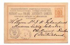 FINLAND 1879 10p POSTAL CARD USED