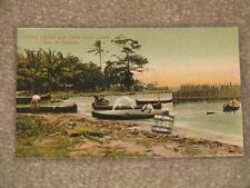 Native Canoes & Turtle Crawl, Colon, Panama, unused