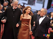 PHOTO JEAN-LOUIS TRINTIGNANT, ISABELLE HUPPERT & MICHAEL HANEKE - 11X15 CM  # 4