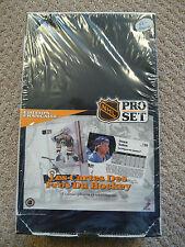 Pro Set 1991 Hockey unopened BOX 36 packs FRENCH VERSION*