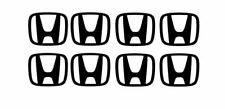 Honda Logo Decal Sticker x8 For Wheel Center Cap Civic Integra Del Sol CRX S2000