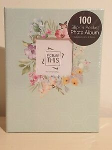 "Photo album - 6 x 4"" (100) Mint green"