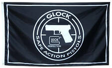 Glock Black Flag SAFE ACTION PISTLOS Banner 3X5Feet US Seller
