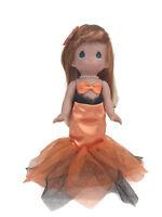 "Precious Moments Disney Parks Exclusive Ariel Mermaid Orange Halloween 12"" Doll"