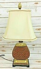 Tuscan Style Pineapple Lamp With Shade Traditional Classic