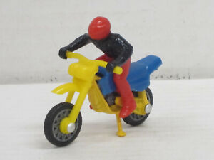 Moto Cross Bike / Motocross-Maschine blau/gelb, ohne OVP, Matchbox, 1:40 ?