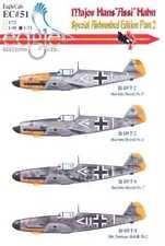 EagleCals Decals 1/32 Bf-109F MAJOR HANS ASSI HAHN Special Airbrushed Set Part 2