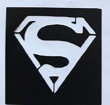 5 Superhero Superman Stencils  top up ur glitter tattoo kit face painting Airbr