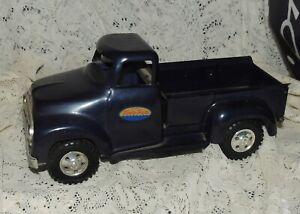 1996 TONKA TOYS STEPSIDE PICKUP TRUCK DARK PURPLE 1956 Ford Model 1:18