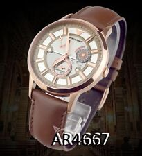 EMPORIO ARMANI MEN'S SKELETON AUTOMATIC ROSE GOLD WATCH AR4667