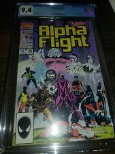Alpha Flight #33 9.4 CGC Marvel Comics 1986 LADY DEATHSTRIKE