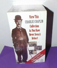 Charlie Chaplin VHS Set Collection Volume 1 - 6 Movies on 4 VHS Tapes - 4 Hrs