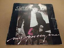 """CLIFF RICHARD """"my pretty one"""" UNIQUE 7"""" très bon 1987"""