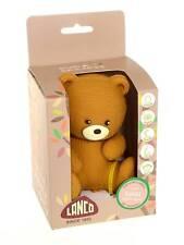 Bobbi the Bear Safe Teething/Bath Toy, 100% Natural, PVC, BPA & Phthalate free