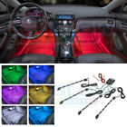 LEDGlow 4pc 7 Color LED Interior Under Dash Seat Footwell Lighting Kit w 72 LEDs