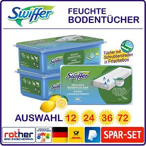 Swiffer Wet Feuchte Bodentücher Wischtücher mit Zitrusduft Auswahl