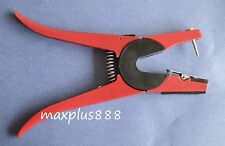 1 pc Sheep Goat Hog Cattle Cow Ear Tag Tool Tagger Red Brand New