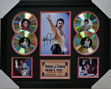 MICHAEL JACKSON 4cd  MEMORABILIA FRAMED SIGNED LIMITED EDITION