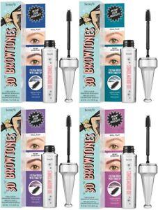 £22 Benefit 3D Browtones Eyebrow Subtle Enhancer Highlight -Blue/Purple/Teal/Red