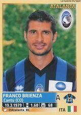 N°035 FRANCO BRIENZA # ATALANTA ITALIA CALCIATORI 2014 PANINI STICKER