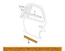 Chevrolet GM OEM 95-05 Cavalier REAR DOOR-Body Side Molding 22652299